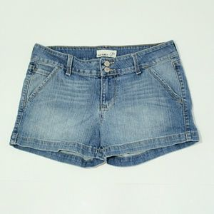 Old Navy Double Button Denim Jean Shorts Size 10